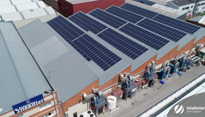 Autoconsumo Industrial Madrid 211Kwp