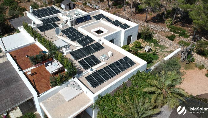 Autoconsumo Solar Ibiza de 20,72Kwp