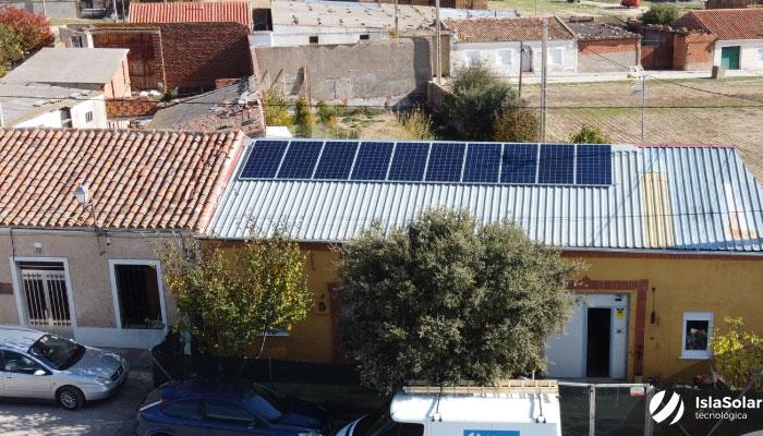 Autoconsumo Solar Aislada