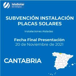 Subvenciones Placas Solares Cantabria