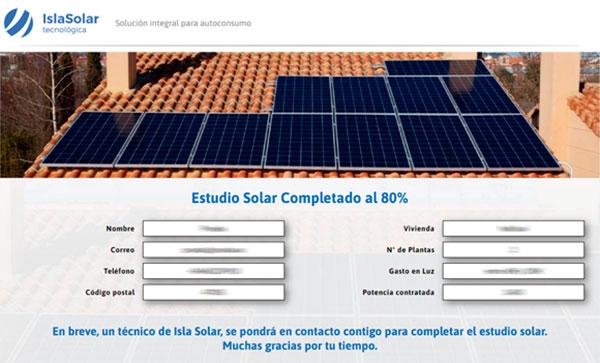 Estudio personalizado energía solar Valencia