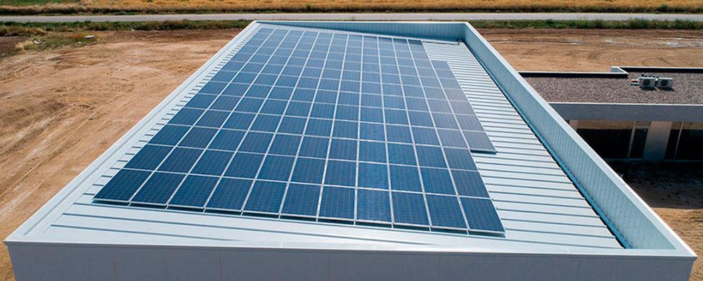 Sistema Coplanar Sandwich Paneles Solares Industriales