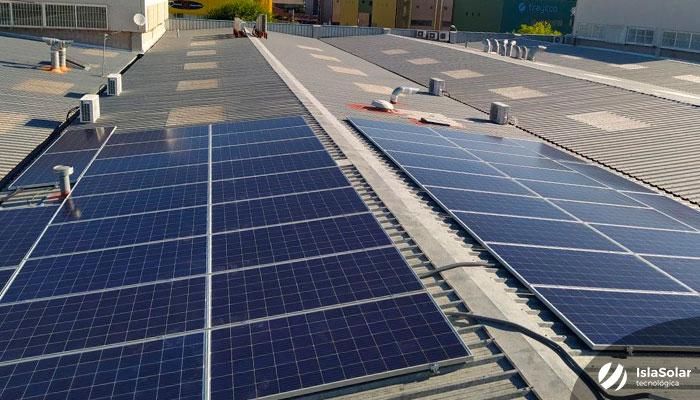 Instalacion Fotovoltaica Industrial Madrid Villaverde