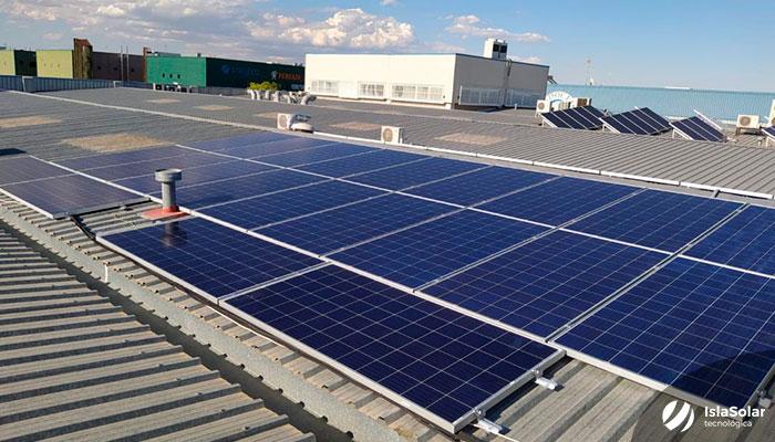 Instalación Paneles Solares Madrid Industrial Villaverde