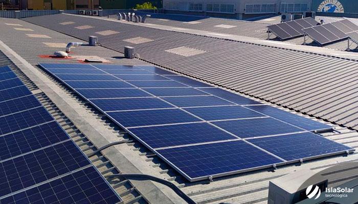 Instalación Paneles Solares Madrid Industrial