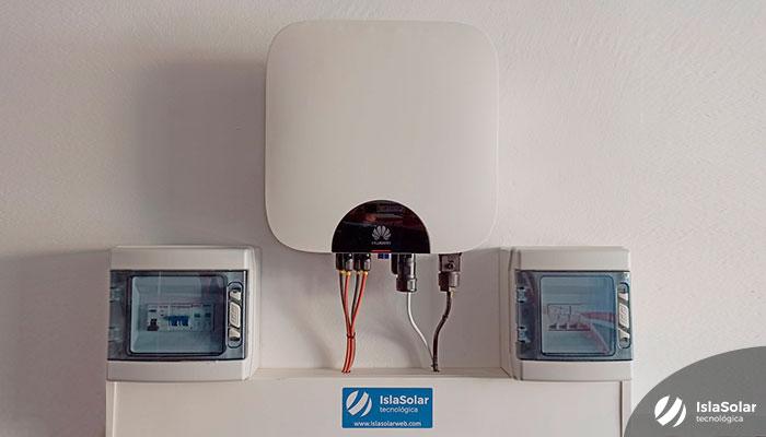Inversor Huawei instalación fotovoltaica residencial en Zamora