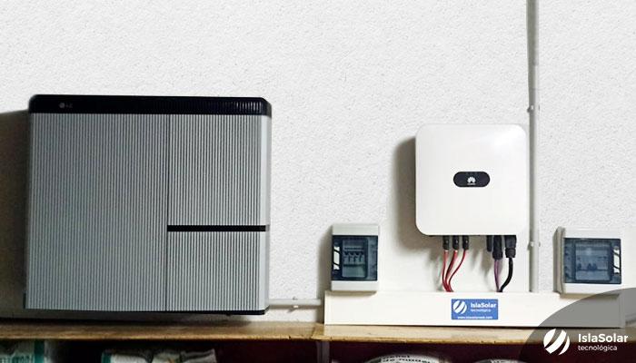 Inversor Solar Huawei Batería Solar LG RESU7H Serranillos del Valle Madrid