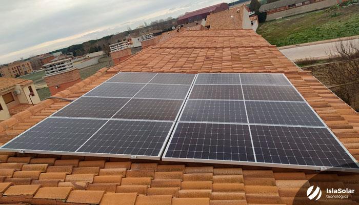Autoconsumo Residencial Iscar Valladolid paneles solares
