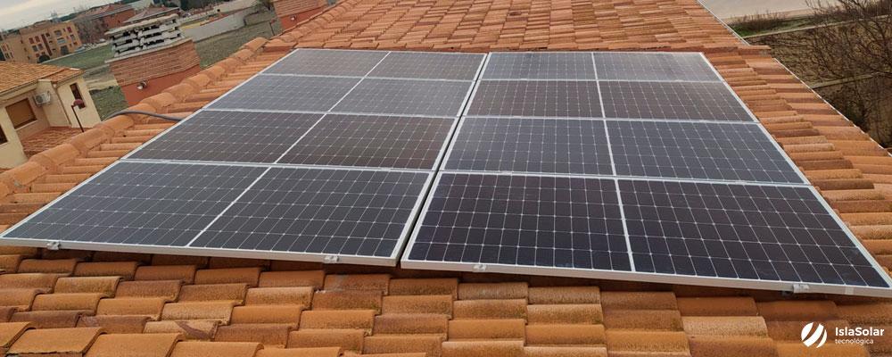 Autoconsumo Residencial en Íscar Valladolid paneles solares