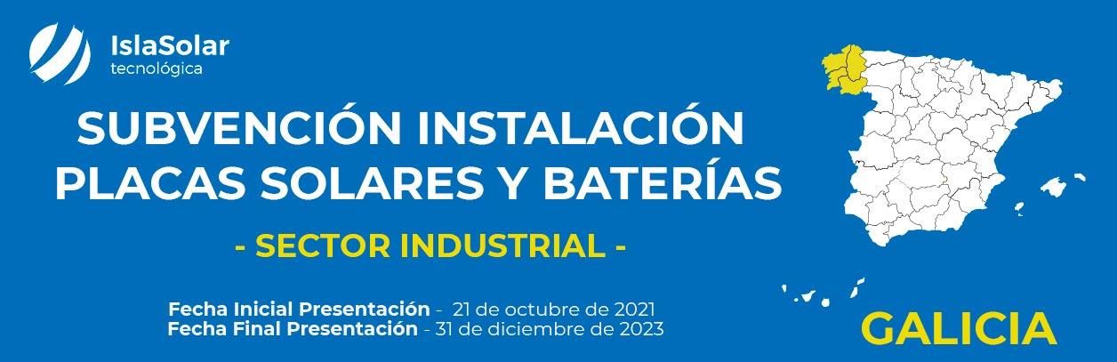 Ayudas al Autoconsumo Industrial en Galicia 2021- 2023