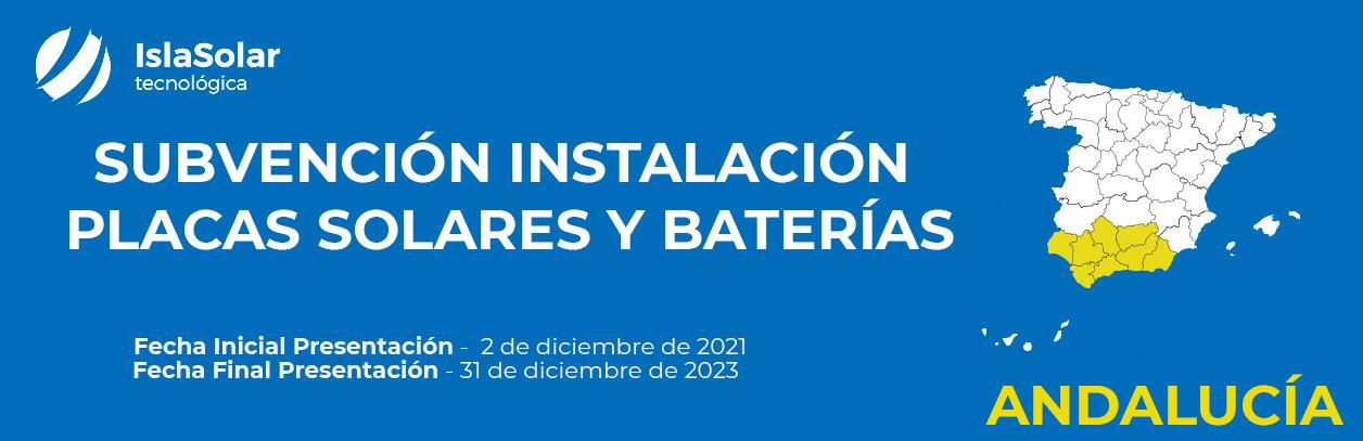 Ayudas al Autoconsumo Residencial Andalucía 2021