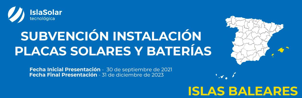 Ayudas al autoconsumo residencial en Baleares
