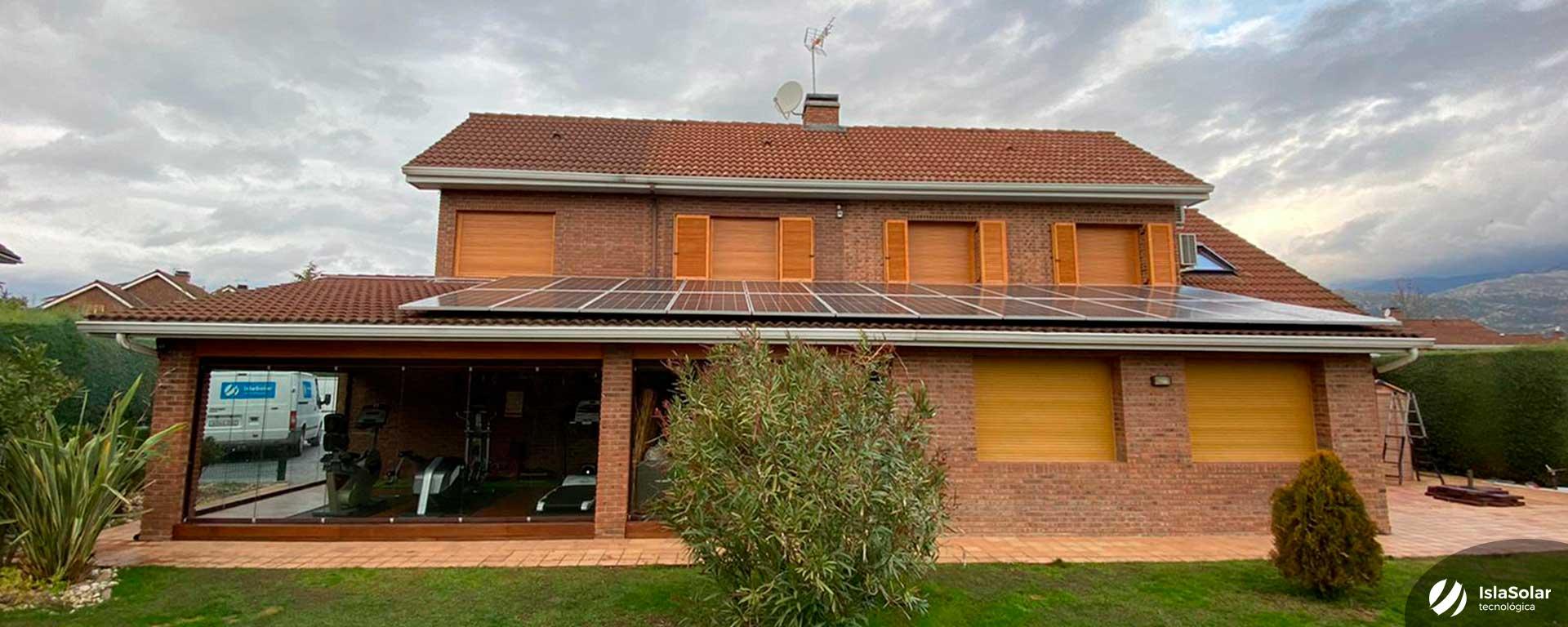 Instalación fotovoltaica en Becerril de la Sierra Autoconsumo Madrid